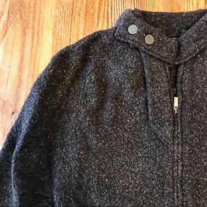 NWT Wool BCBGMaxAzria Charcoal Cape